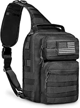CVLIFE Tactical Sling Bag