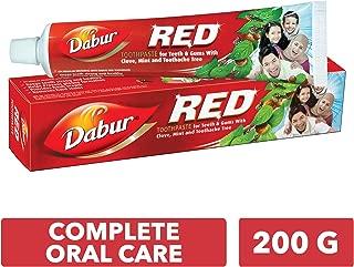 DABUR Red Toothpaste, 200 gm + Brush