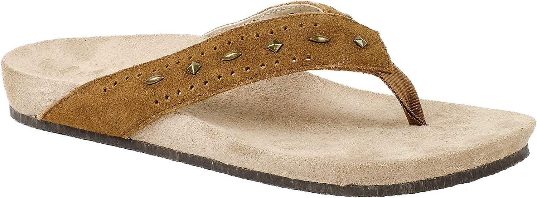 REVITALIGN Women's Kena Stud Flip-Flop Sandal Direct sale Max 68% OFF of manufacturer