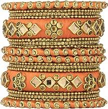 fancy stone bangles