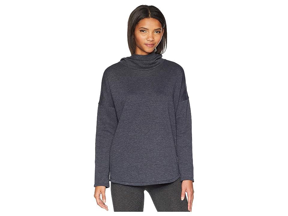 Burton Hixon Pullover Hoodie (True Black Heather) Women's Sweatshirt
