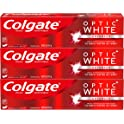2 Pack Colgate Optic White Whitening Toothpaste Sparkling Mint