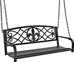 Best 5 ft metal porch swing Reviews