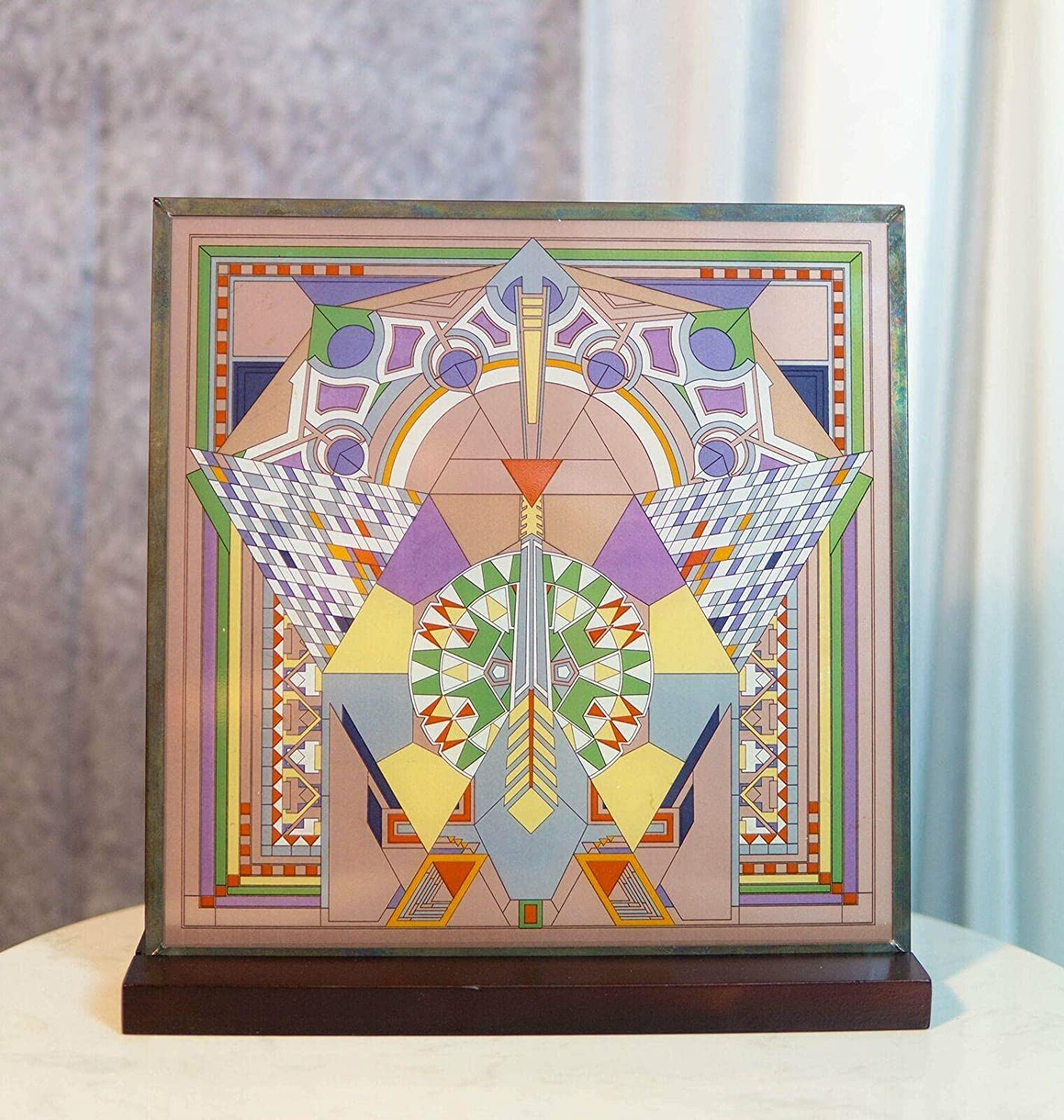 In a popularity Stained Glass Wall Desktop Plaque Decor Selling rankings S Garden Home