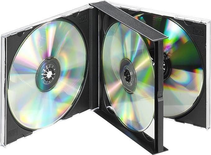 Vivanco Cd Dvd Double Jewel Case Schwarz Computer Zubehör