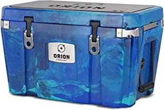 Orion Heavy Duty Premium Cooler (55 Quart, Ocean), Durable Insulated Outdoor Ice Chest for Maximum Cold Retention - Portable, Bear Resistant, and Long Lasting, Great for Hunting, Fishing, Camping