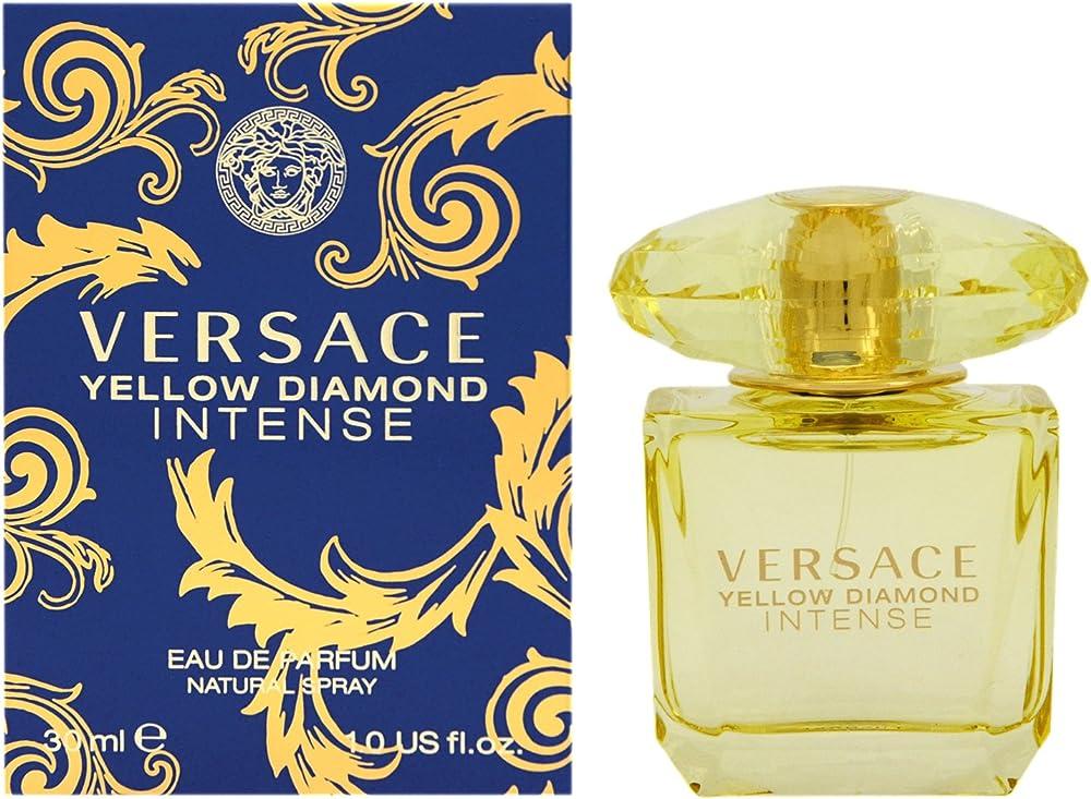Gianni versace, yellow diamond intense, eau de parfum per donna, 30 ml 8011003823079