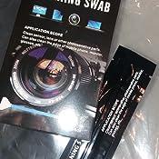 10 Stück Sensorreinigung Sensor Swabs Zur Reinigung Von Vollformat Kamera Sensoren Mikrofaser Cleaning Swab Küche Haushalt