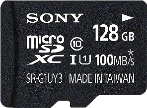Sony Flash-Speicherkarte SDHC, 4GB Schwarz Schwarz 128 GB