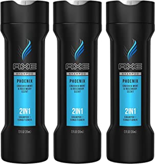 Axe 2-in-1 Shampoo Plus Conditioner, Phoenix, 12 Fluid Ounce (Pack of 3)