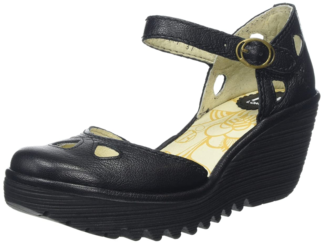 米国肥沃な黄ばむSHOE BLACK FLY LONDON Yuna P500016090