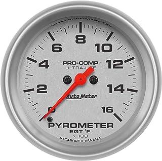 Auto Meter Dodge Match 2-1//16 0-60 PSI Full Sweep Electric Exhaust Pressure Gauge 8592