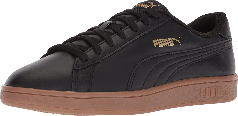 Puma Men's Smash V2 Leather Plus Sneaker