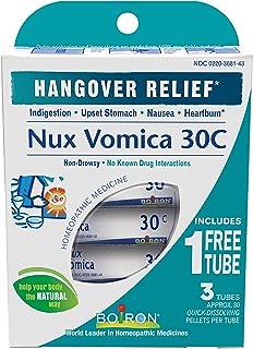 Boiron Nux Vomica, 30C Pellets, 80-Count Tubes (6 Tubes Per Order)