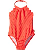 Kate Spade New York Kids - Scalloped One-Piece (Infant)