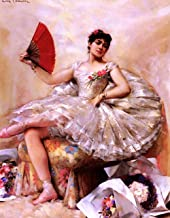 Leon Francois Comerre Portrait of The Ballerina Rosita Mauri - 21