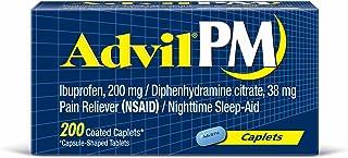 Advil PM Caplets Family pack of 400 Count