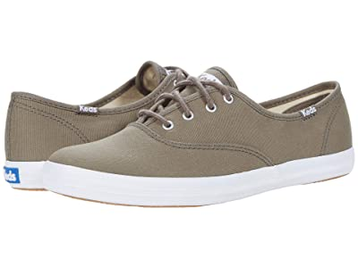 Keds Champion Seasonal Solids (Bungee Cord Olive) Women