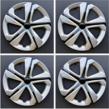 16 Inch Silver Replacement Wheel Cover Rim Hubcaps fits 14-15 Honda Civic