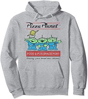 Disney Pixar Toy Story Pizza Planet Aliens Sweat à Capuche