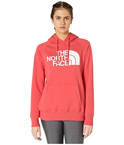 The North Face Half Dome Pullover Hoodie (Cayenne Red) Women