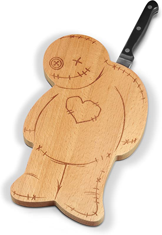 Fred OUCH Voodoo Cutting Serving Board And Knife Set