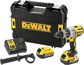 DEWALT DCD996P2-QW - Taladro Percutor a bateria sin escobillas XR 18V XRP 13mm 95Nm con 2 baterías Li-Ion 5,0Ah con maletín TSTAK