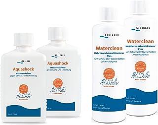 Entretien pour lits à eau. Après-shampoing et Aquashock Stricker, double pack de 2x 250ml