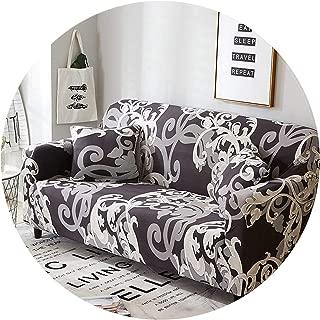 Spandex Sofa Cover Elastic Couch Cover funda Sofa L-Shape Sectional Cover Furniture Protector cojines decorativos para Sofa 1PC,Color 2,4-Seater 235-300cm