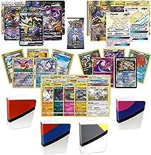 Totem World Pokemon Ultra Rare & Secret Rare Guaranteed with Foil - Rare Pokemon Cards - Booster Pack - Totem Mini Binder