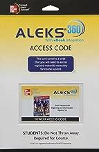 ALEKS 360 Access Card 18 Weeks for Beginning and Intermediate Algebra
