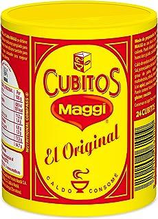 Maggi Pastillas para Caldo en Cubitos, Caldo Deshidratado - Paquete de 24 cubos