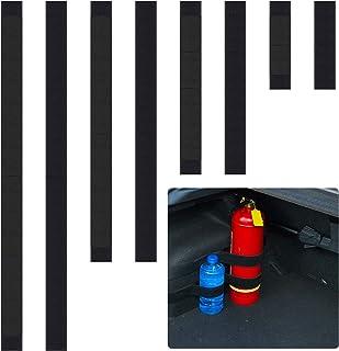 8 Pcs Car Trunk Organizer Elastic Strap Belt- 7.8/15.7/23.6/31.5 inches Black Car Trunk Organizer Tidying Stowing Fixed St...