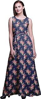 Bimba Fashion Ladies Printed Long Tank MaxiDressResort Wear Evening Gown
