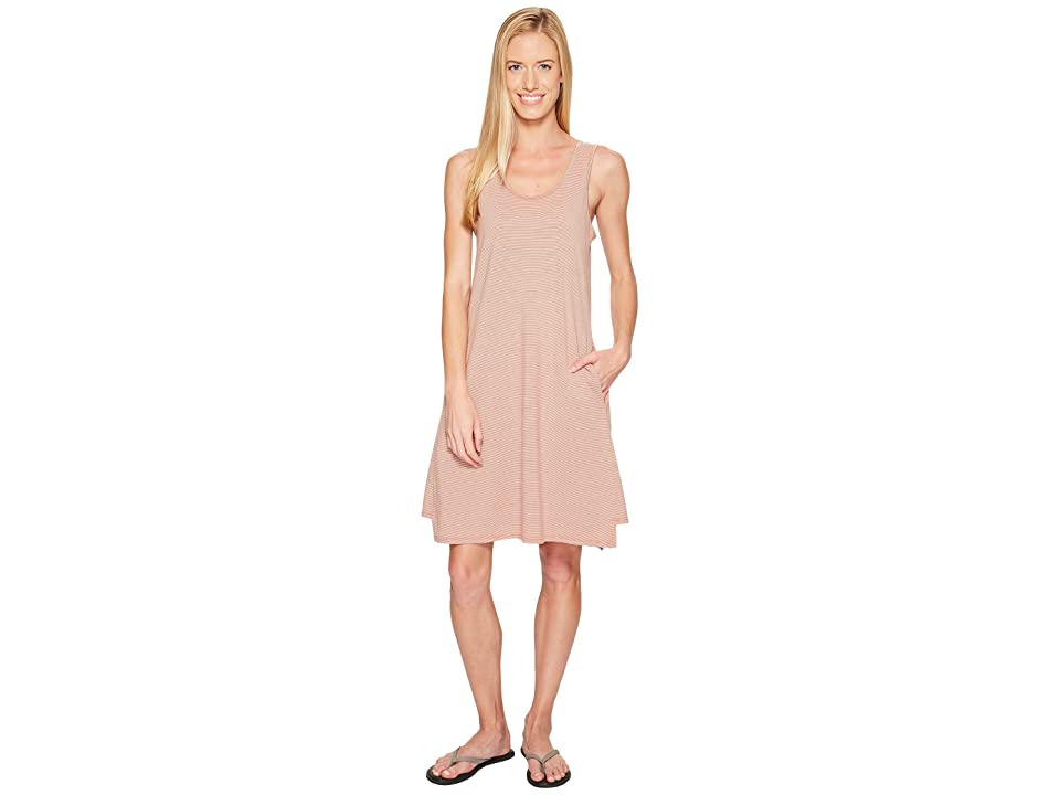 NAU Astir Tank Dress (Poppy Stripe) Women
