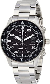 CITIZEN Men's Solar Powered Watch, Analog Display and Stainless Steel Strap CA0690-88E
