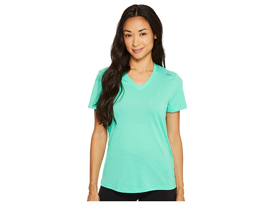 Reebok Supremium V-Neck Tee (Bright Emerald) Women