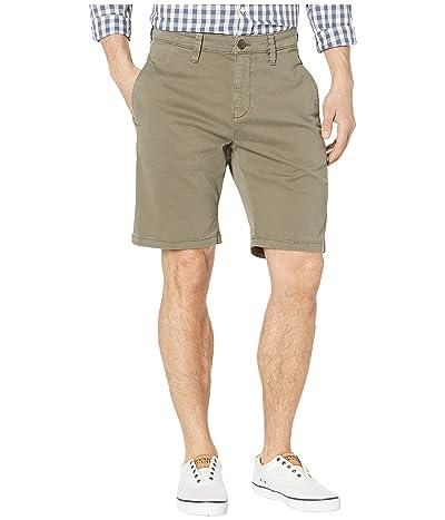 Mavi Jeans Matteo Shorts in Dusty Olive Sateen Twill (Dusty Olive Sateen Twill) Men