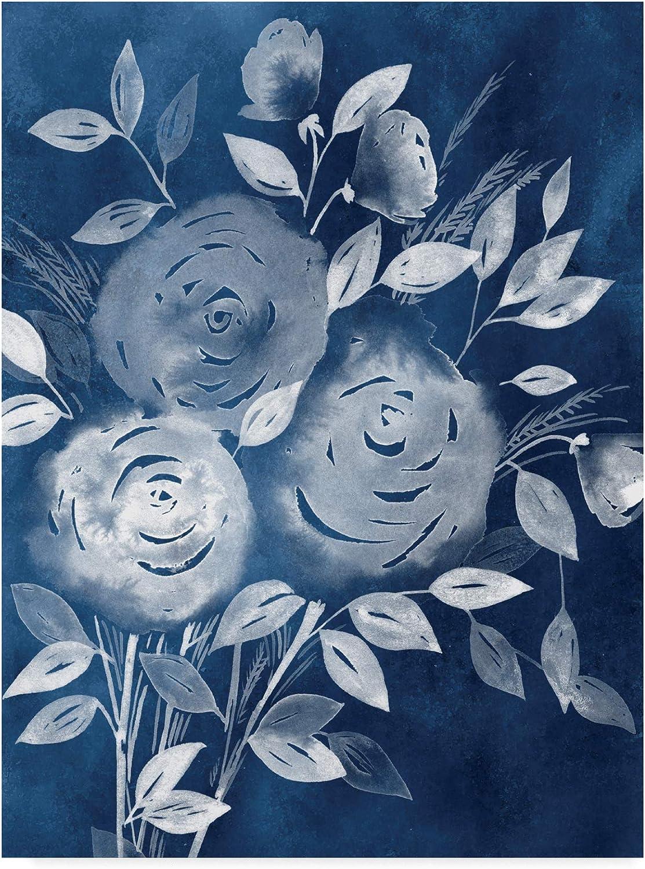 Trademark Fine Art Cyanotype pinks I by Grace Popp, 14x19