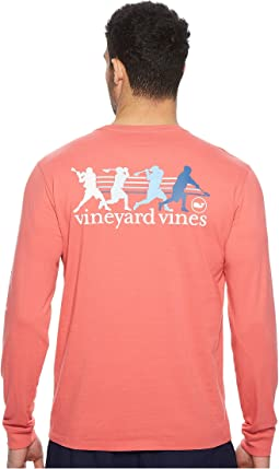 Vineyard Vines - Long Sleeve Wind Up Shot Pocket Tee