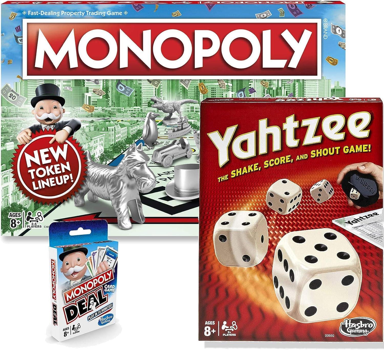 Selling rankings Classic Monopoly Deal Exclu Yahtzee Financial sales sale Bundle