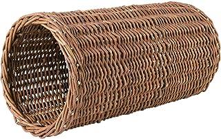 Trixie 62833 Wilgentunnel, voor Konijnen, Cavia's, Hamsters, ø20 x 38 cm, Ceder