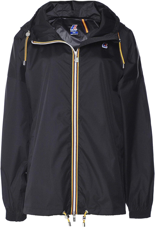 K-way Women's Packable Marie Poly Jacket Black