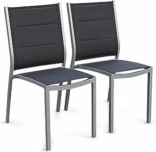 Amazonfr Chaise Jardin Aluminium Textilene