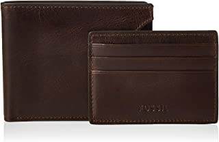 Fossil Men's Derrick RFID-Blocking Leather Bifold Wallet