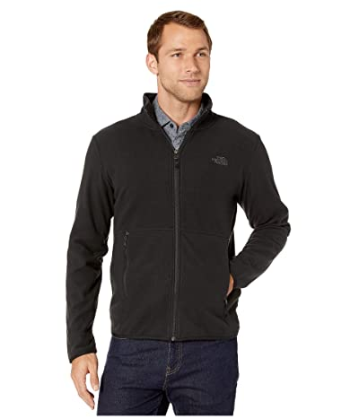 The North Face TKA Glacier Full Zip Jacket (TNF Black/TNF Black) Men