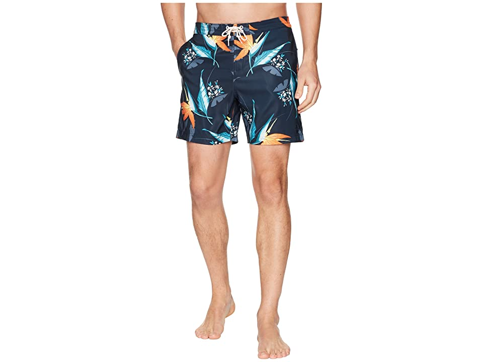 Original Penguin Tropical Floral Fixed (Dark Sapphire) Men