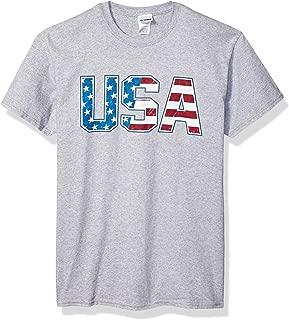 Patriotic American Flag 4th of July Short Sleeve T-Shirt