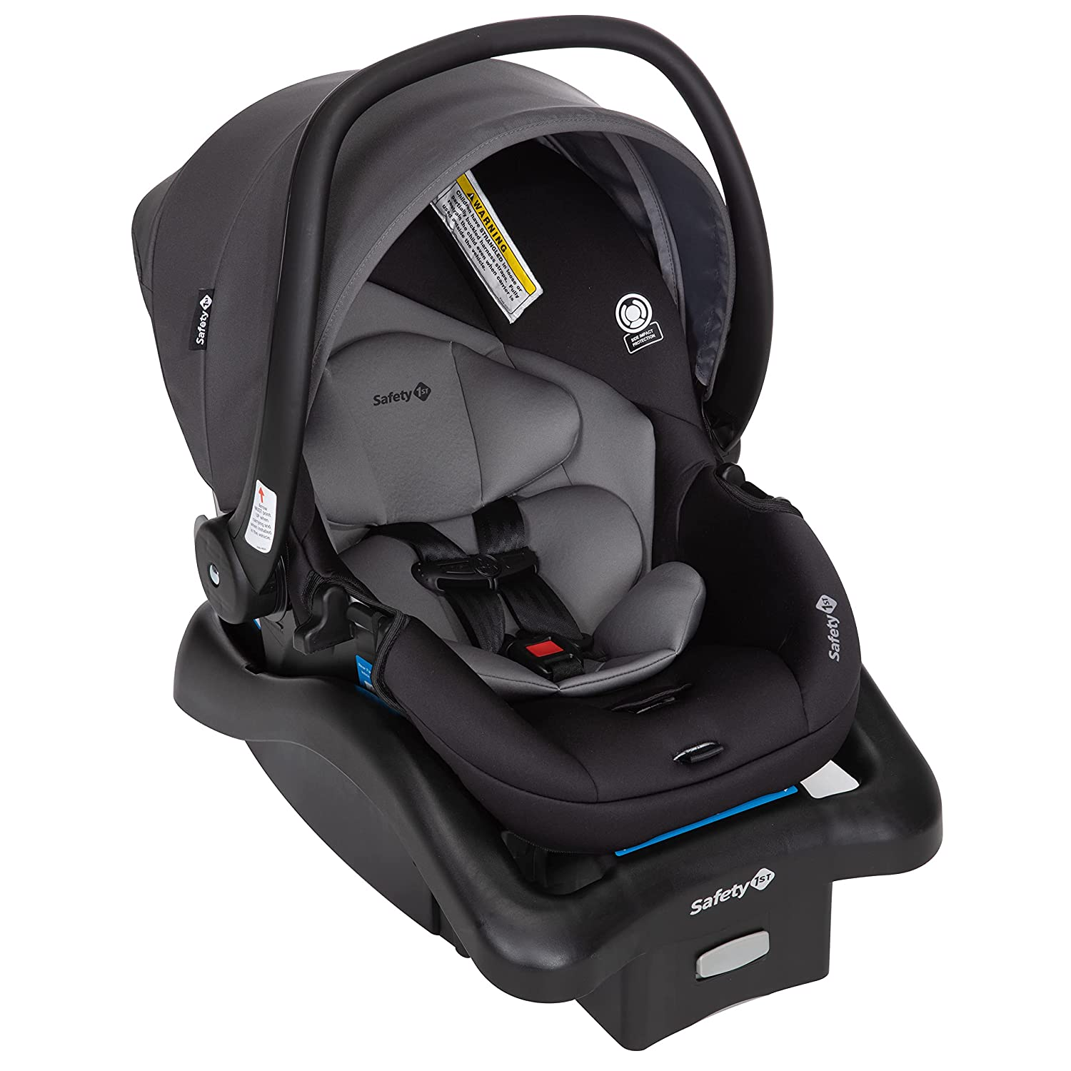 Safety 1st Smooth Ride Travel System with OnBoard 35 LT Infant Car Seat, Monument