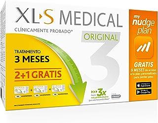 Xls Pack 3 Meses Xls Medical Original Captagrasas 800 g